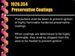 1926 354 preservative coatings71