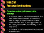 1926 354 preservative coatings72