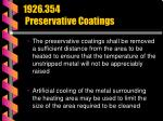 1926 354 preservative coatings73