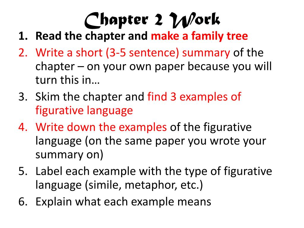 Chapter 2 Work