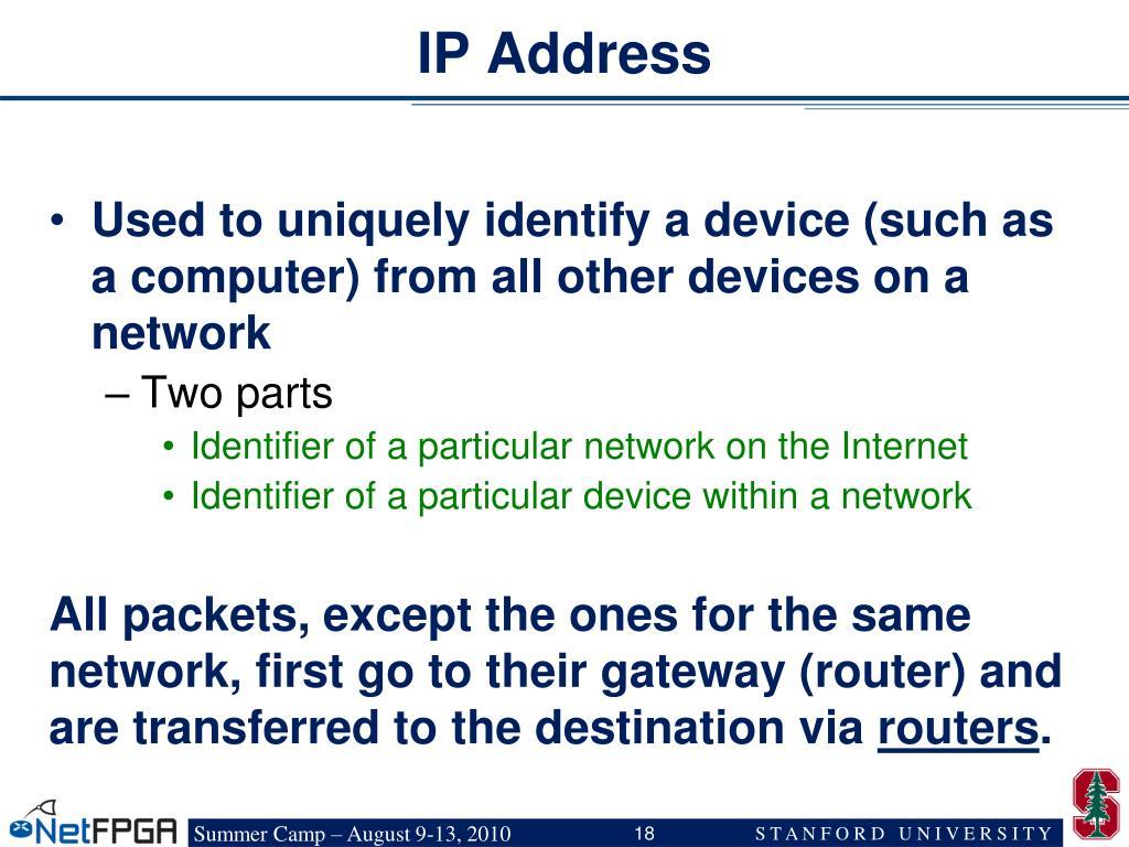 IP Address