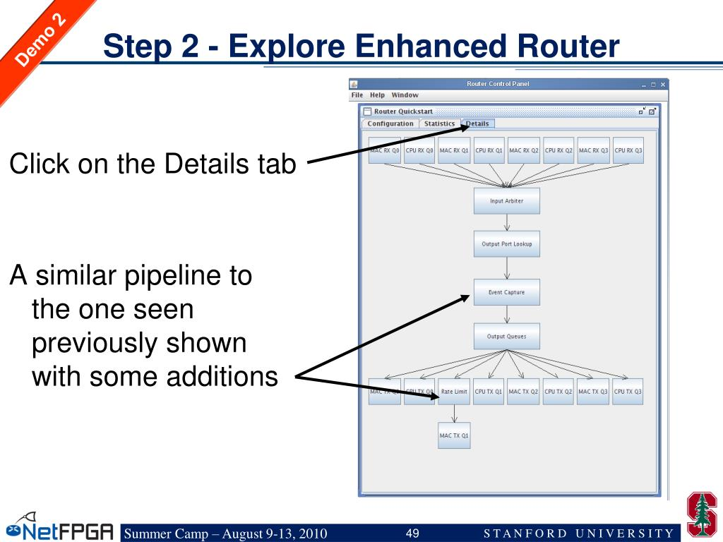 Step 2 - Explore Enhanced Router