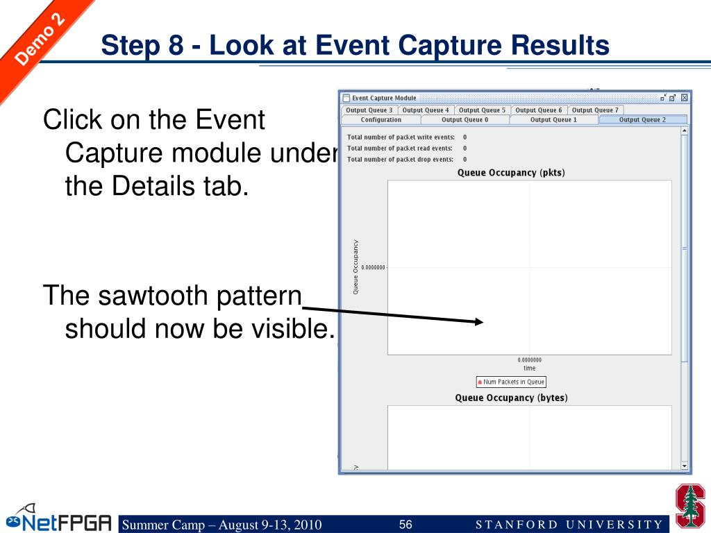 Step 8 - Look at Event Capture Results