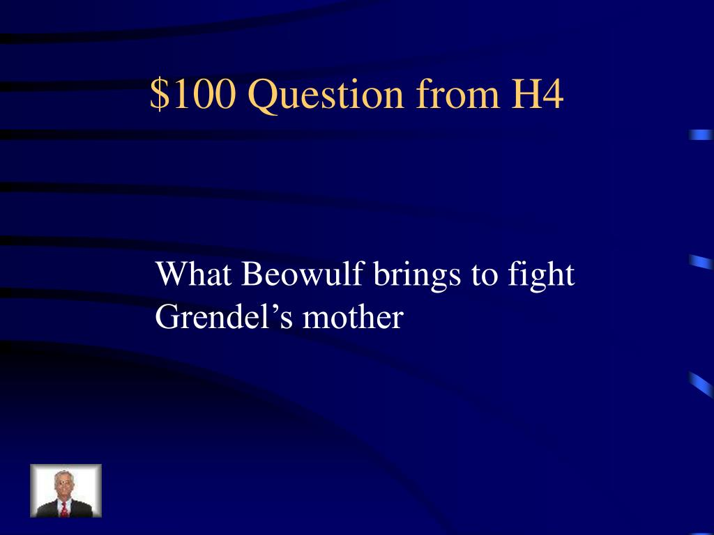 $100 Question from H4