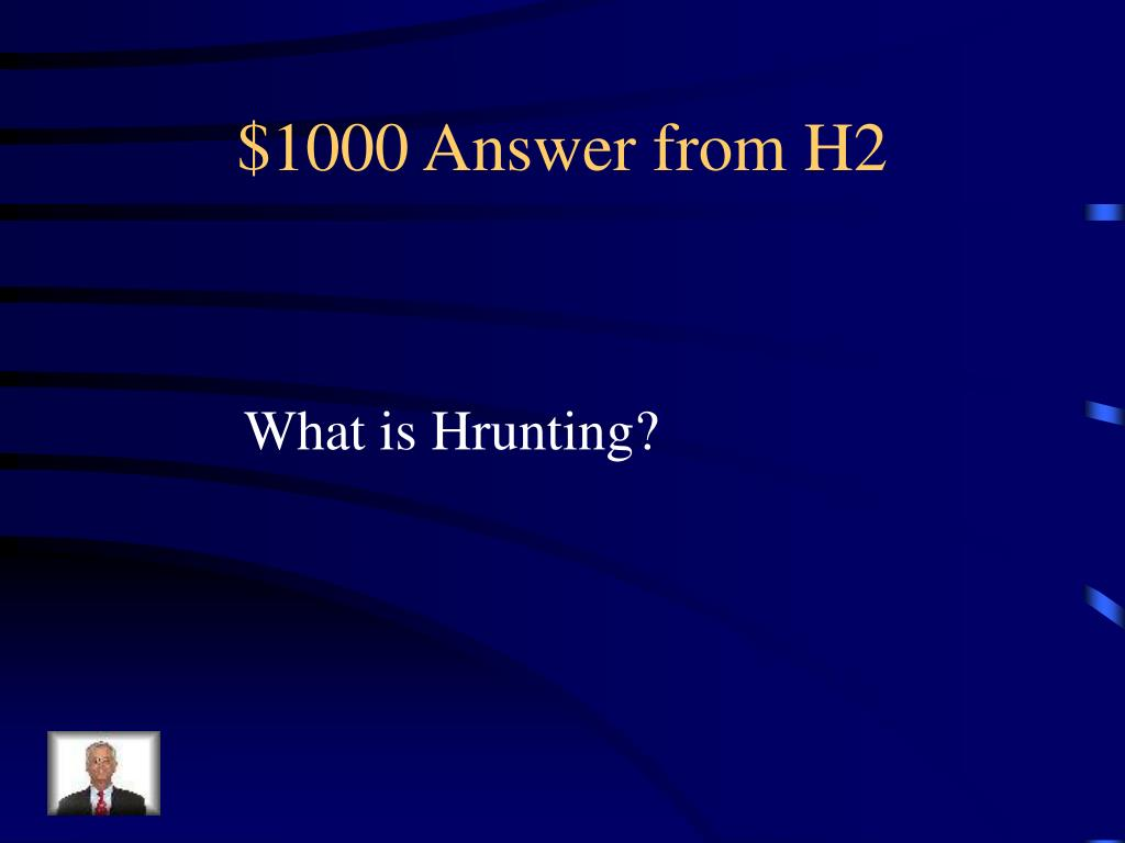 $1000 Answer from H2