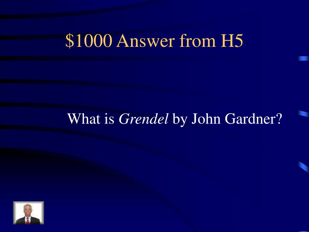 $1000 Answer from H5