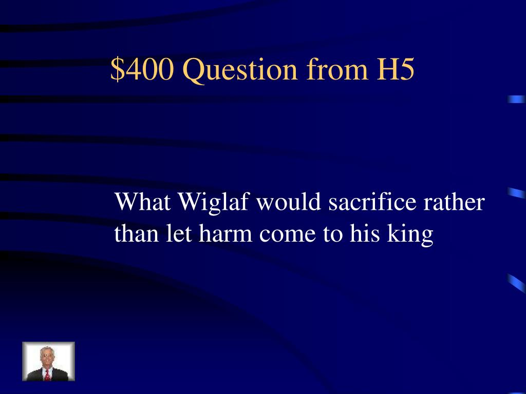 $400 Question from H5
