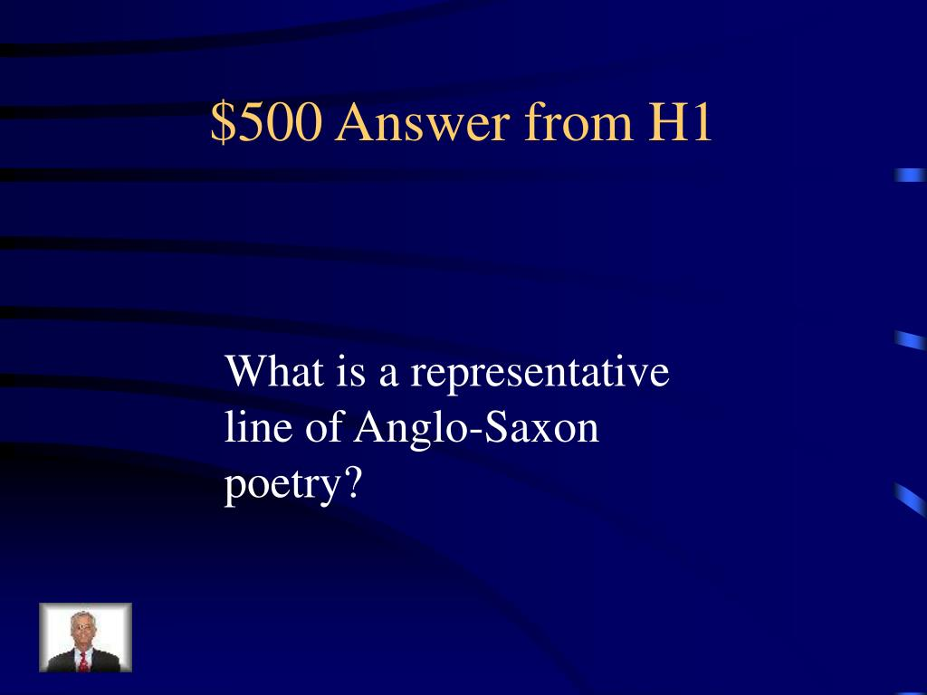 $500 Answer from H1