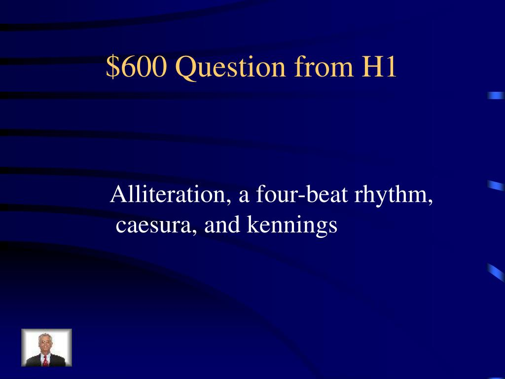 $600 Question from H1