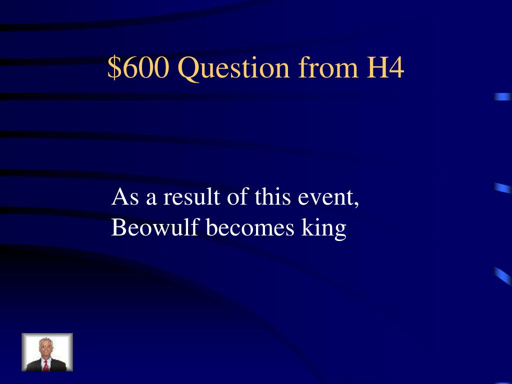 $600 Question from H4