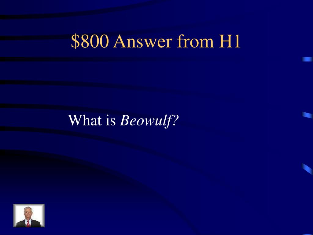 $800 Answer from H1