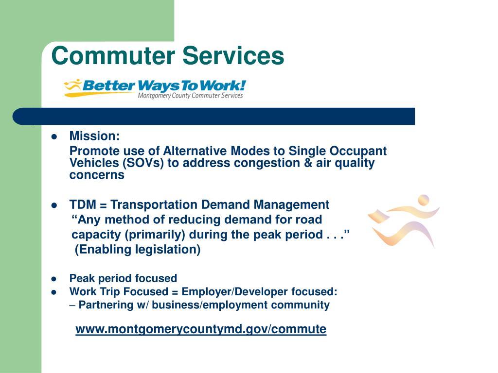 Commuter Services