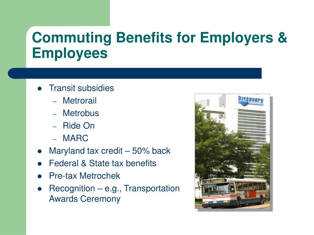 Commuting Benefits for Employers & Employees