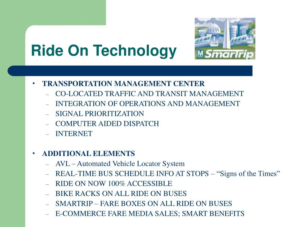 Ride On Technology