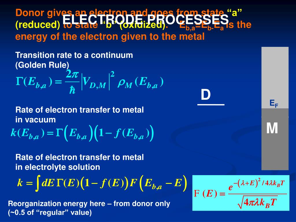 Donor gives an electron and goes from state