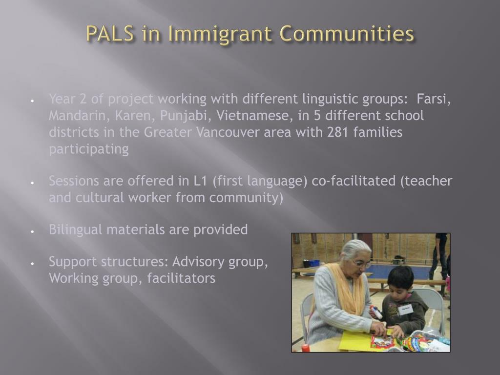 PALS in Immigrant Communities
