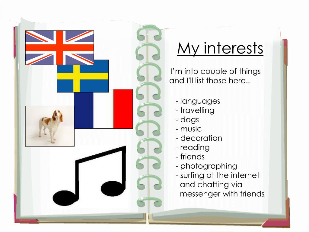 My interests