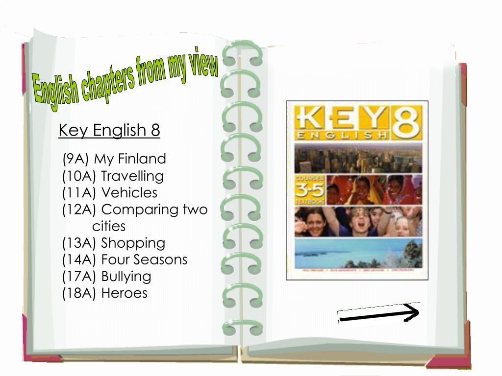 English chapters from my view