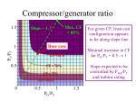 compressor generator ratio
