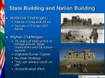 state building and nation building