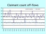 claimant count off flows
