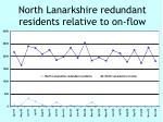 north lanarkshire redundant residents relative to on flow