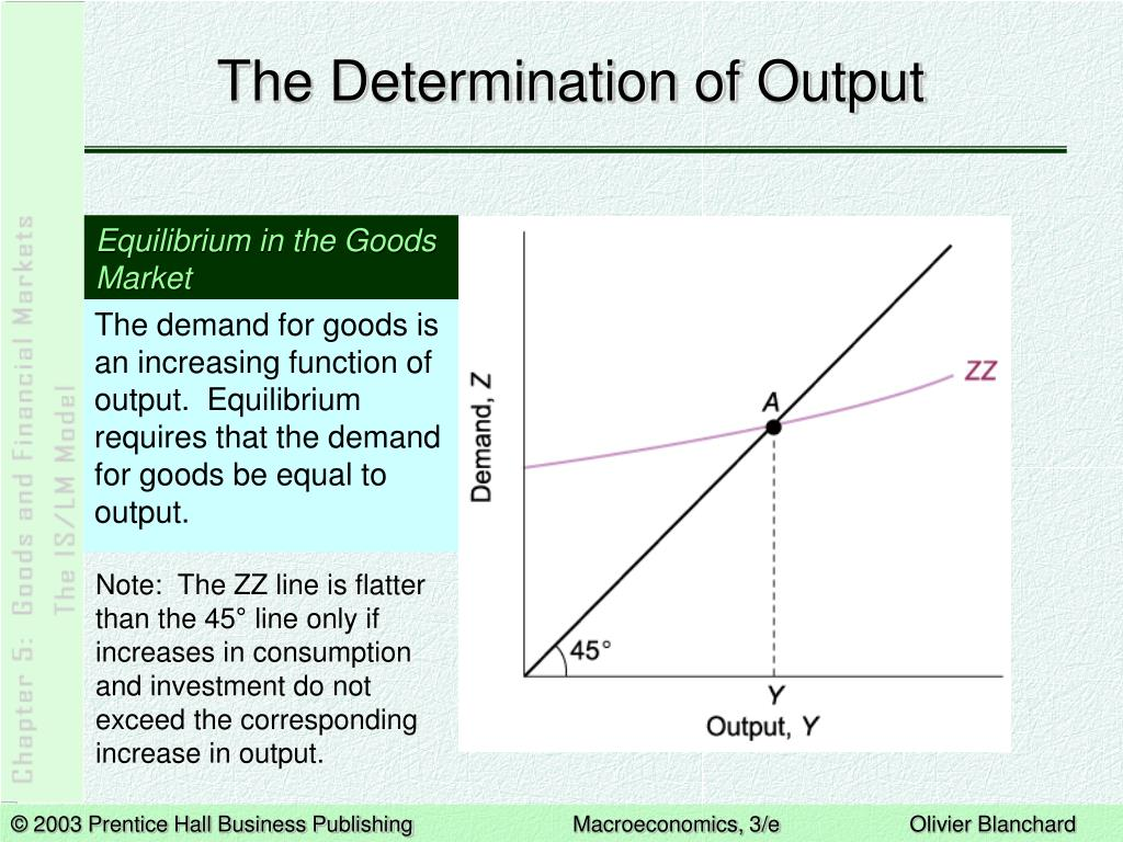 The Determination of Output