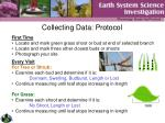 collecting data protocol