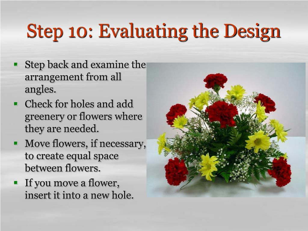 Step 10: Evaluating the Design