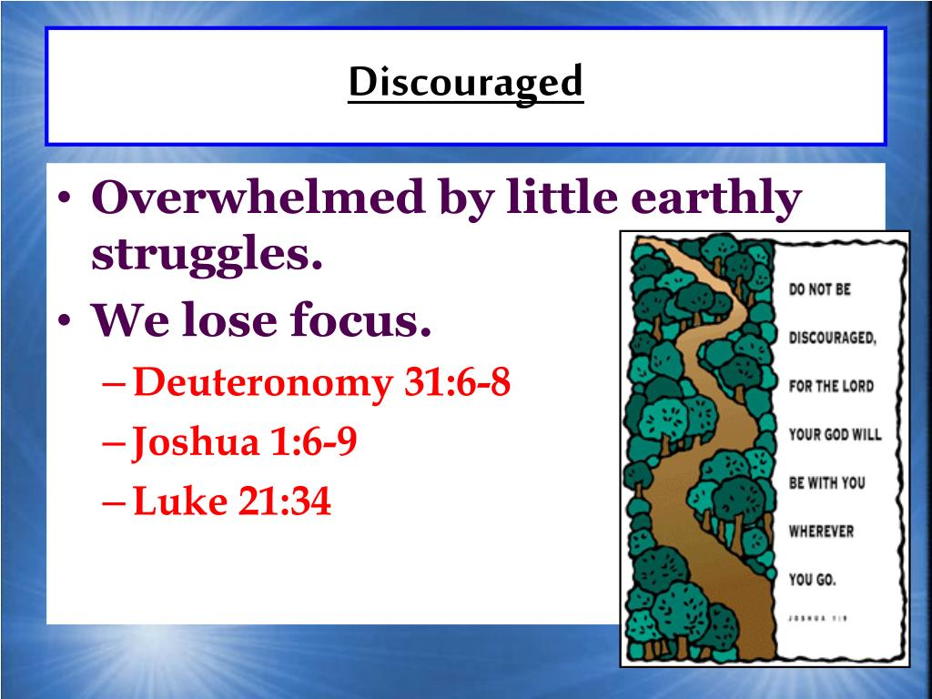 Discouraged
