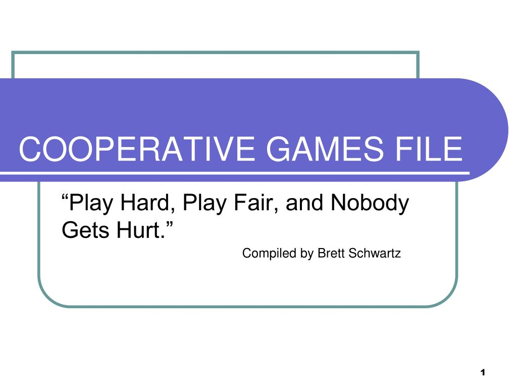 cooperative games file l.