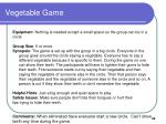 vegetable game