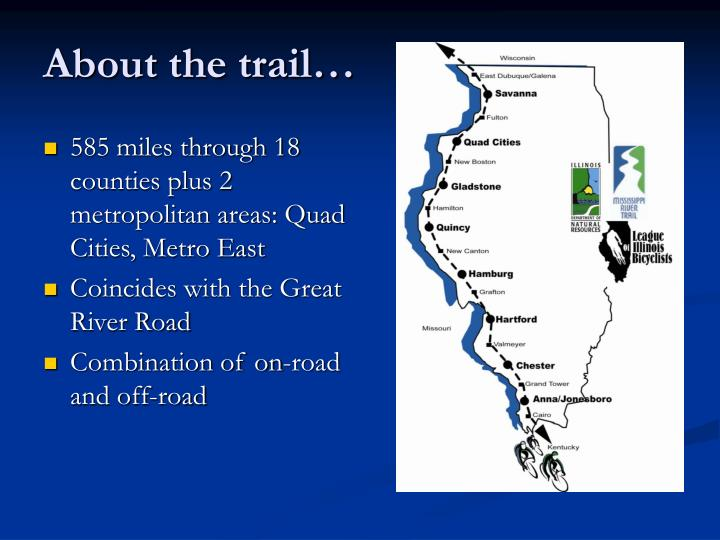 About the trail