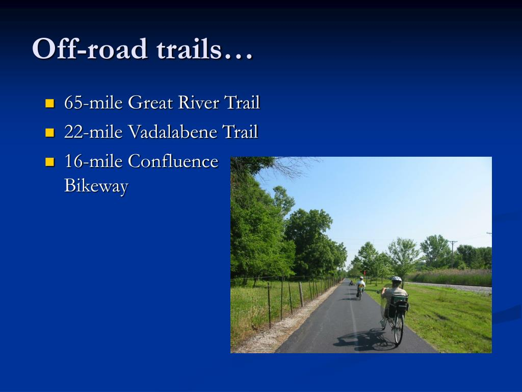 Off-road trails…