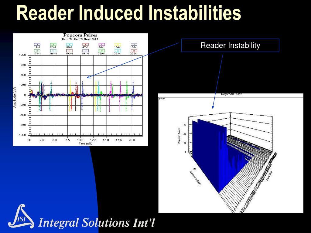 Reader Induced Instabilities