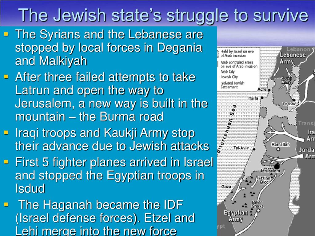 The Jewish state's struggle to survive