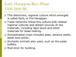 early harappan ravi phase 3300 2800 bc