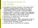 late harappan cemetery h 1700 1300 bc