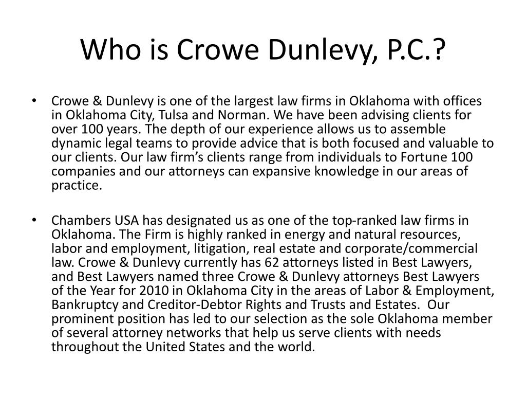 Who is Crowe