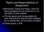 rights and responsibilities of stepparents