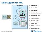 db2 support for xml
