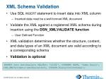 xml schema validation