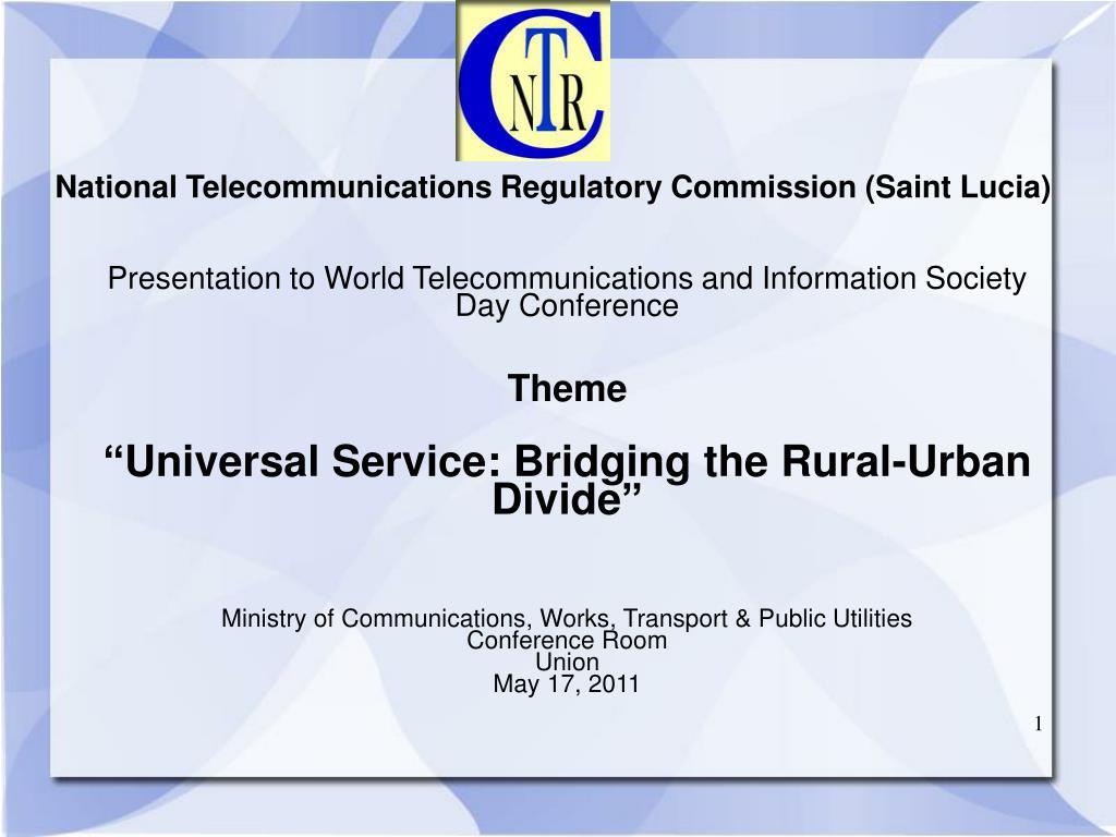national telecommunications regulatory commission saint lucia l.