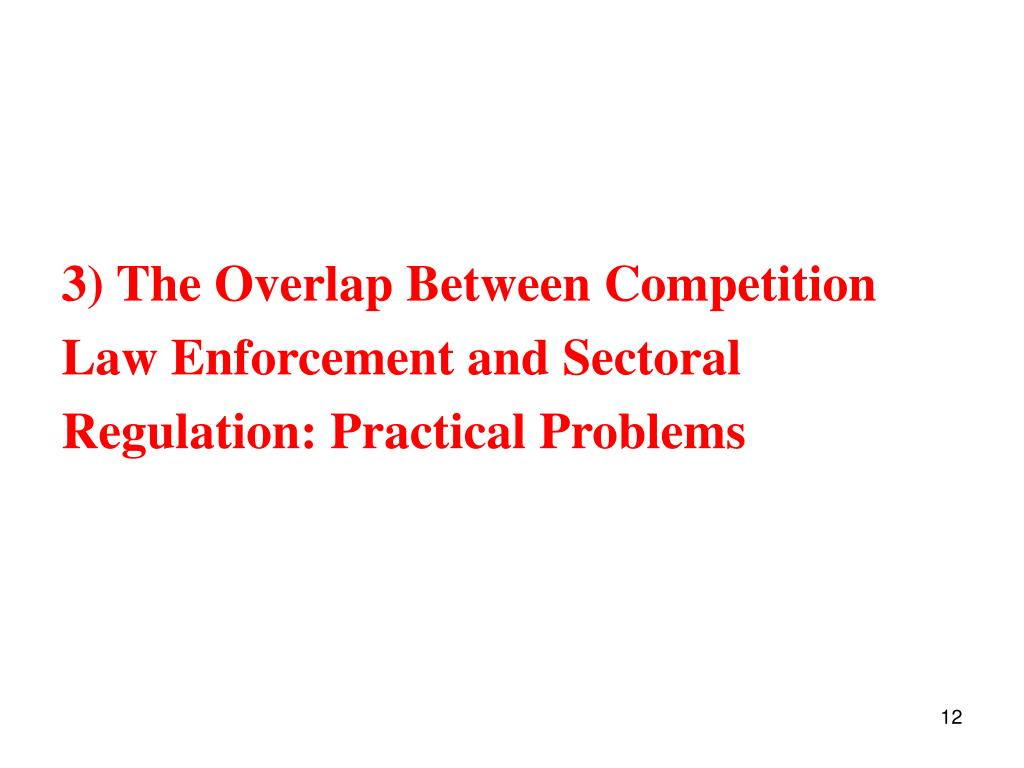 3) The Overlap Between Competition