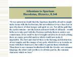 athenians to spartans herodotus histories 8 144