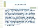 scythian polarity