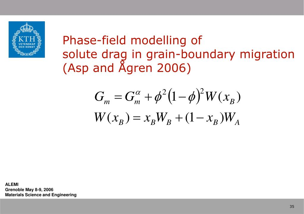 Phase-field modelling of