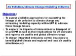 air pollution climate change modeling initiative54