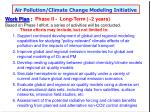 air pollution climate change modeling initiative56
