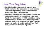 new york regulation